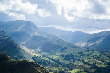 Newlands Valley from Catbells
