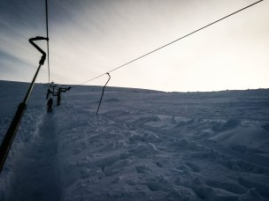 Last run of the day