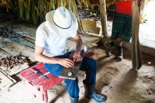 Cigar making